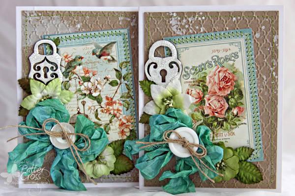 Rose Pair Cards