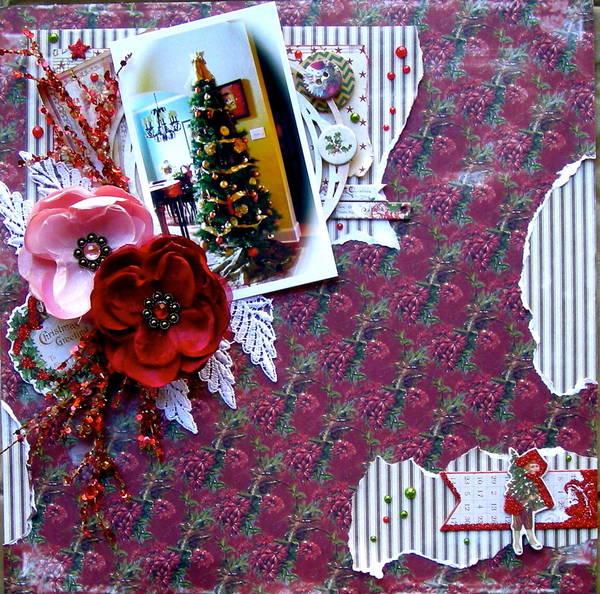 Christmas Greetings ~ CM Dec Kit